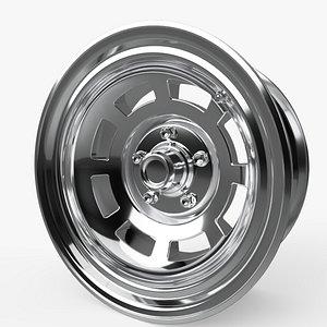 3D sport car rim