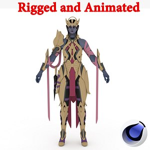 3D Rea Rigged and Animated