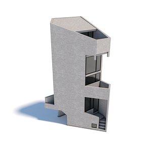 3D model Azuma Tower House