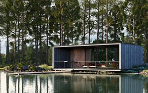 3D model Lake House
