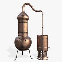distillation cube alambik