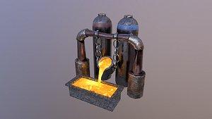 3D Mine Boiler