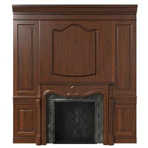 Classic fireplace 07 model