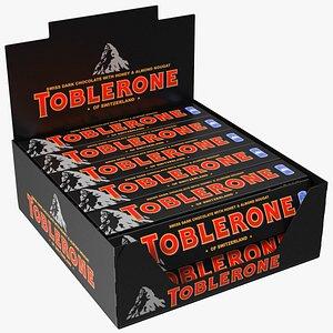 Toblerone Dark Chocolates Box model