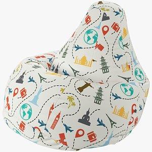 Bean Bag Chair V5 3D