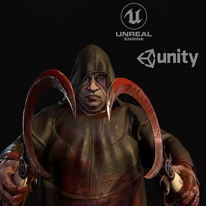unity person 3D model