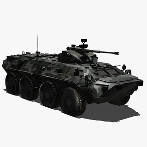 Military Armoured Personel Carrier APC model