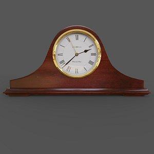 mantel clock Howard Miller 635-101 Christopher 3D model