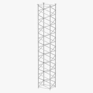 crane f intermediate section model