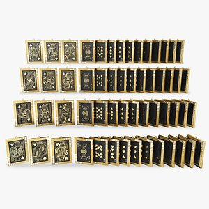 playing card pendant model