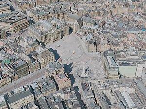 3D model amsterdam city