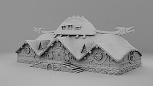 house merchants 3D model