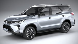 3D Toyota Fortuner 2021