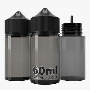 3D bottle 60ml type4