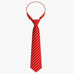Classic necktie 01 red model