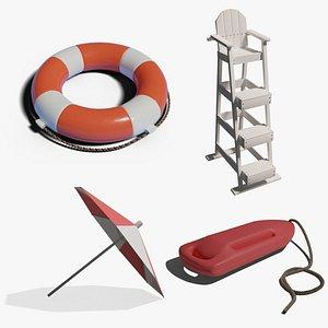 3D Lifeguard Collection