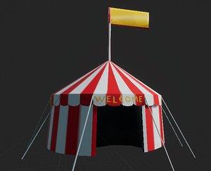 circus lods 3D model