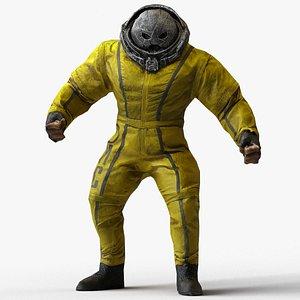 Juggernaut Figure  Scan 3D model