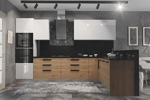 3D model kitchen 06