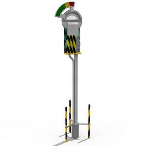 Hill Valley Parking Meter 3D