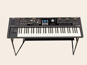 Electronic organ electronic instrument electronic music electronic keyboard instrument electronic sy 3D