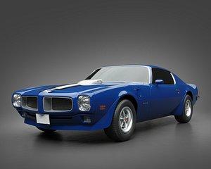1971 Pontiac Firebird TransAm model
