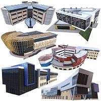 Modern Building Pack