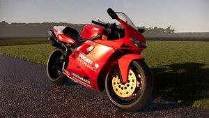 bike ducati 3D model