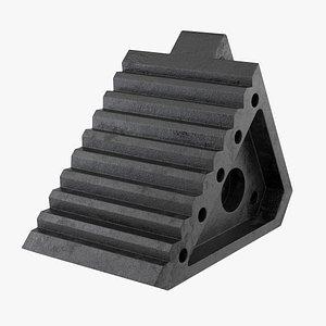 wheel chock 3D model