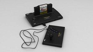 3D model SNK Neo Geo AES