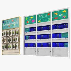3D Pet Shop - Aquarium and Plants Collection