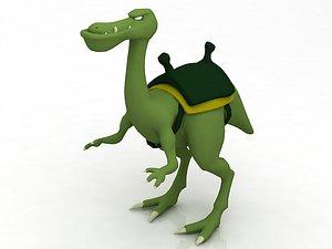3D model Dinosaur Toy Brachiosaurus