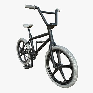 3D Bmx Bicycle model