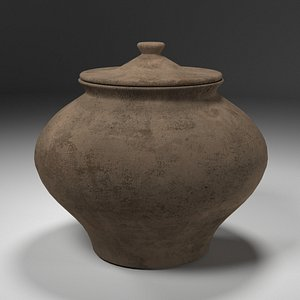 pottery relic 3D model