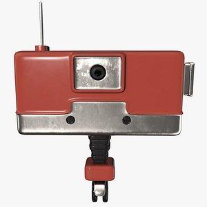 camera robot 3D model
