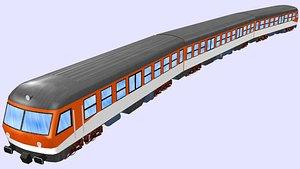 passenger train db class model