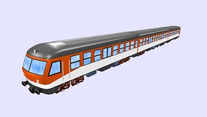 passenger train db class model