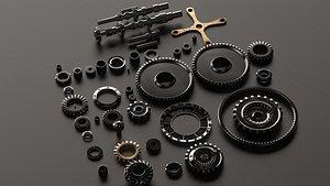 3D gears set