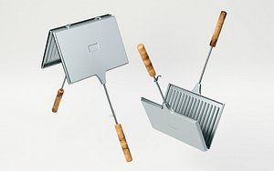 3D toast stove toaster model