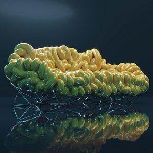 3D couch tube snake