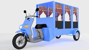 Motobus 3D model