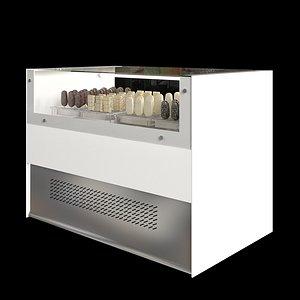 3D Eskimo display Freezer