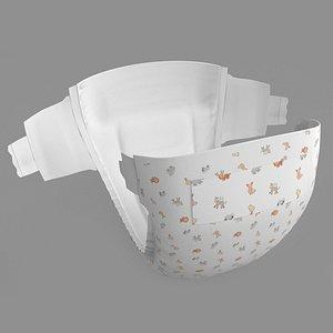 3D baby diaper