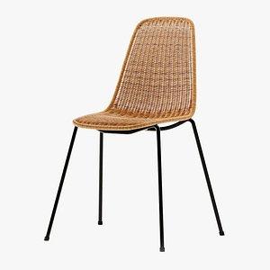 Feelgood Designs basket rattan chair by Gian Franco Legler 3D
