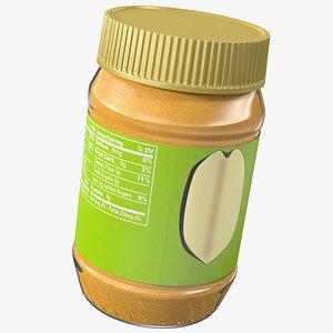 Creamy Peanut Butter 3D model