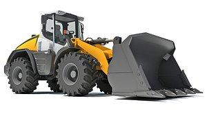wheel load loader 3D model