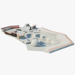 3D model Skatepark
