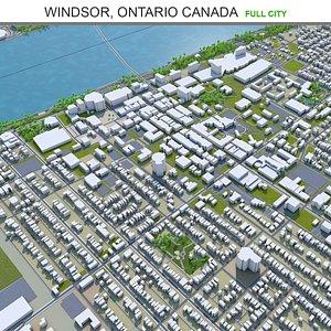 Windsor Ontario Canada model