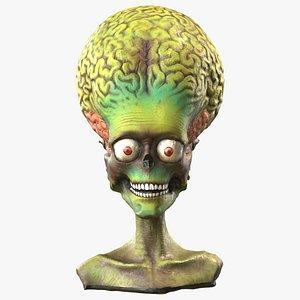3D Martian Figure - Scan