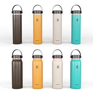 Hydro Flask 24 oz and 32 oz Light Weight Wide Mouth Trail Series model